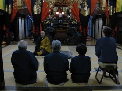 坐禅会 平成21年3月14日