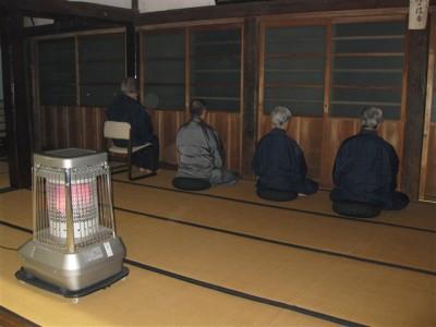 夜坐 成道会・慧可断臂摂心会2009