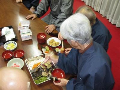 薬石準備 成道会・慧可断臂摂心会2009