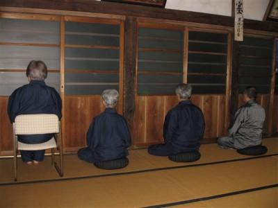暁天 成道会・慧可断臂摂心会2009