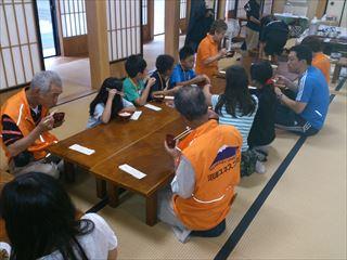 ユネスコ・サマースクール2013 朝食