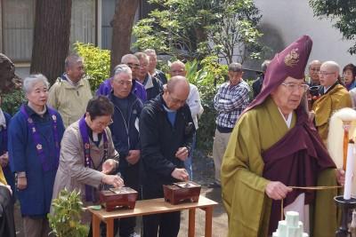 生物供養祭とお花見 2014-no.2