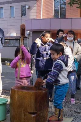 稲荷堂移設記念 初午餅つき大会-no.5
