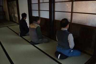 坐禅会(平成27年3月28日)