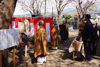 生物供養祭とお花見 2015 -no.1