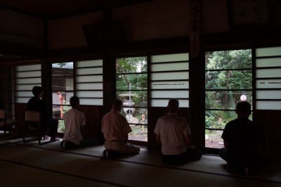 坐禅会(平成27年8月22日)
