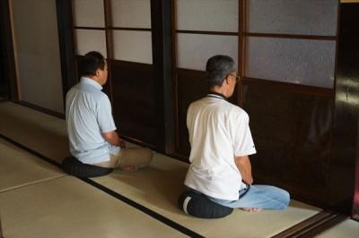 坐禅会(平成28年7月23日) -no.1
