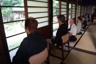 坐禅会(平成28年7月23日) -no.2