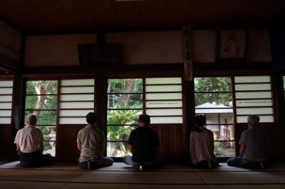 坐禅会(平成28年7月23日) -no.3
