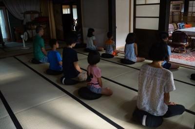 第2回 夏休み子どもお泊り禅のつどい 2日目 -no.1