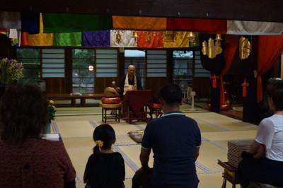 お寺でお盆供養 2016 -no.1