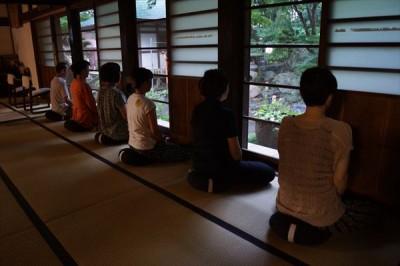 沼津大学坐禅会の報告 -no.3