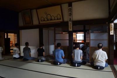 沼津大学坐禅会の報告 -no.4