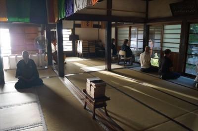 坐禅会(平成28年8月20日) -no.1