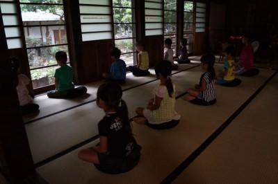 お泊り保育坐禅会 -no.2