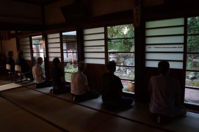 坐禅会(平成28年9月10日)