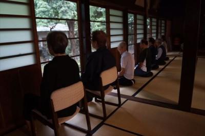 坐禅会(平成28年9月24日) -no.2