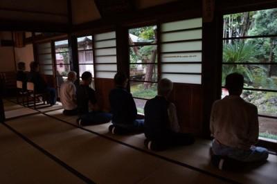 坐禅会(平成28年9月24日) -no.3