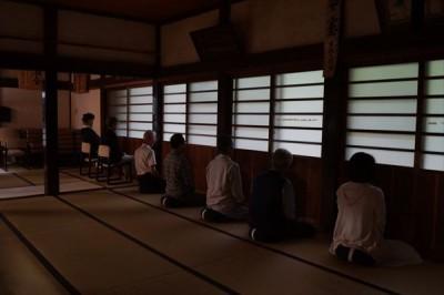 坐禅会(平成28年10月8日) -no.2