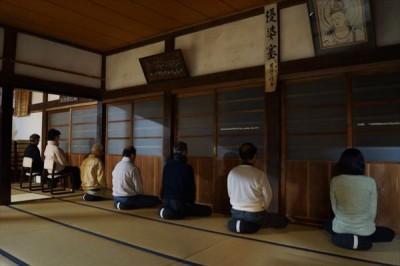 坐禅会(平成28年12月10日)