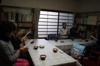 平成29年最初の坐禅会&七草粥 -no.3