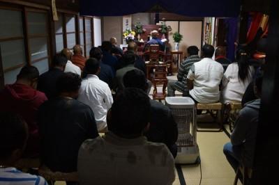 スリランカ人モハマッドさんの葬儀と食事会 -no.3