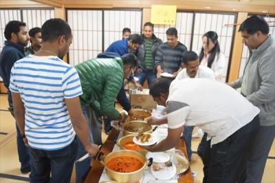 スリランカ人モハマッドさんの葬儀と食事会 -no.6