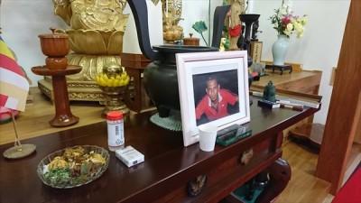 スリランカ人モハマッドさんの葬儀と食事会 -no.1