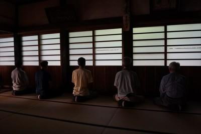 坐禅会(平成29年6月17日)