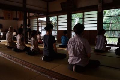 第3回 夏休み子どもお泊り禅のつどい 2日目 -no.3