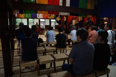 お寺でお盆供養 2017 -no.1