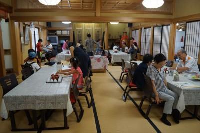 浮島まちづくり委員会「坐禅体験とお茶講座」-no.1