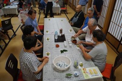 浮島まちづくり委員会「坐禅体験とお茶講座」-no.7