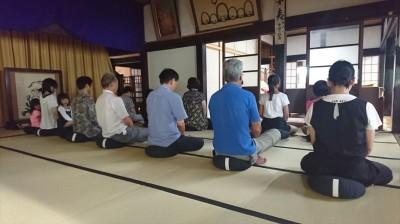 浮島まちづくり委員会「坐禅体験とお茶講座」-no.4