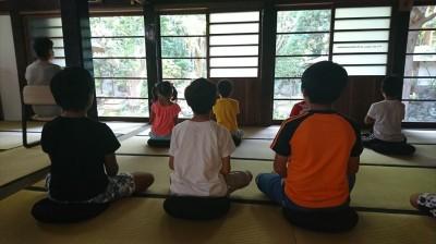 浮島まちづくり委員会「坐禅体験とお茶講座」-no.5
