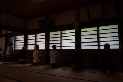 坐禅会(平成29年9月30日)-no.2