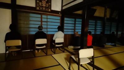坐禅会(平成30年11月10日)-no.1