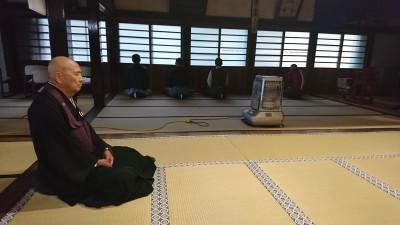 平成30年 成道会と慧可断臂摂心会 1日目