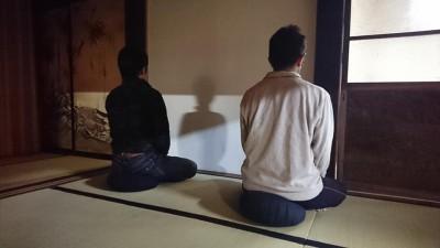 坐禅会(平成30年12月8日)-no.3